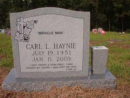 HAYNIE, CARL L - Nevada County, Arkansas | CARL L HAYNIE - Arkansas Gravestone Photos