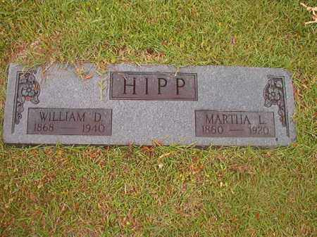 HIPP, MARTHA L - Nevada County, Arkansas | MARTHA L HIPP - Arkansas Gravestone Photos