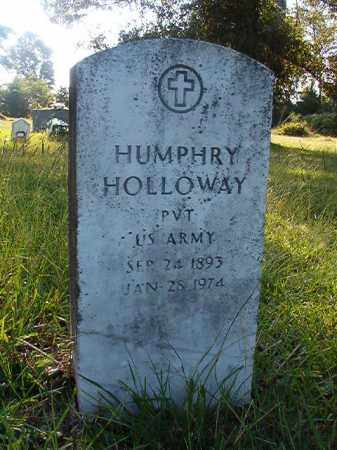 HOLLOWAY (VETERAN), HUMPHRY - Nevada County, Arkansas | HUMPHRY HOLLOWAY (VETERAN) - Arkansas Gravestone Photos