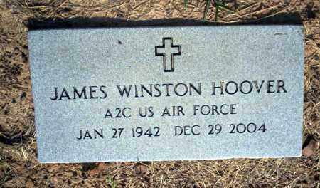 HOOVER  (VETERAN), JAMES WINSTON - Nevada County, Arkansas | JAMES WINSTON HOOVER  (VETERAN) - Arkansas Gravestone Photos