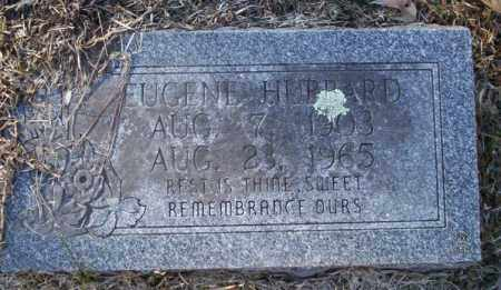 HUBBARD, EUGENE - Nevada County, Arkansas | EUGENE HUBBARD - Arkansas Gravestone Photos