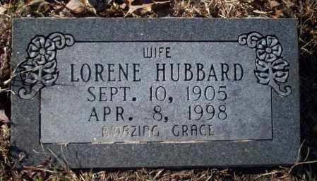 HUBBARD, LORENE - Nevada County, Arkansas | LORENE HUBBARD - Arkansas Gravestone Photos