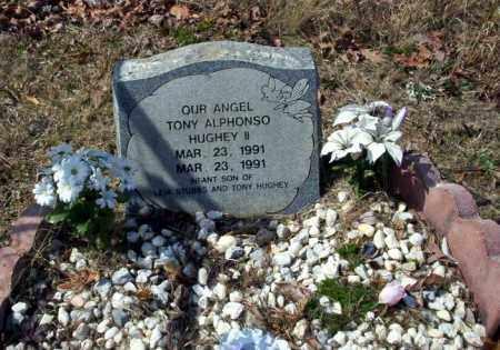 HUGHEY II, TONY ALPHONSO - Nevada County, Arkansas | TONY ALPHONSO HUGHEY II - Arkansas Gravestone Photos