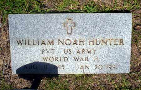 HUNTER  (VETERAN WWII), WILLIAM NOAH - Nevada County, Arkansas | WILLIAM NOAH HUNTER  (VETERAN WWII) - Arkansas Gravestone Photos