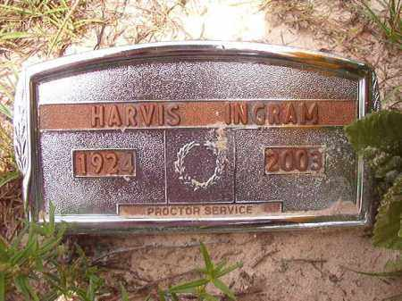INGRAM, HARVIS - Nevada County, Arkansas | HARVIS INGRAM - Arkansas Gravestone Photos