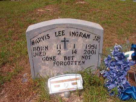 INGRAM,JR, HARVIS LEE - Nevada County, Arkansas | HARVIS LEE INGRAM,JR - Arkansas Gravestone Photos