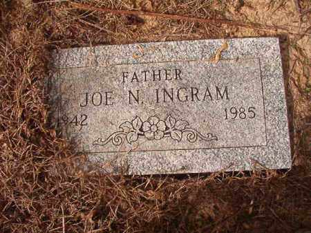 INGRAM, JOE N - Nevada County, Arkansas | JOE N INGRAM - Arkansas Gravestone Photos