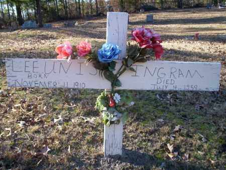 INGRAM, LEE UNIS - Nevada County, Arkansas | LEE UNIS INGRAM - Arkansas Gravestone Photos
