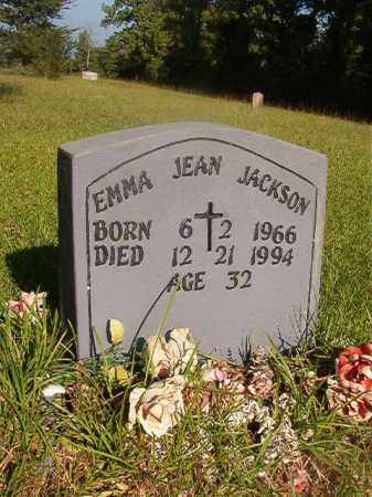 JACKSON, EMMA JEAN - Nevada County, Arkansas | EMMA JEAN JACKSON - Arkansas Gravestone Photos