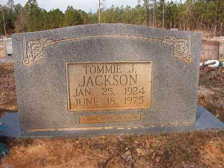 JACKSON, TOMMIE J - Nevada County, Arkansas | TOMMIE J JACKSON - Arkansas Gravestone Photos