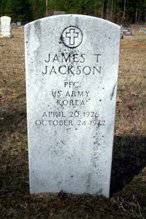 JACKSON (VETERAN KOR), JAMES T - Nevada County, Arkansas | JAMES T JACKSON (VETERAN KOR) - Arkansas Gravestone Photos