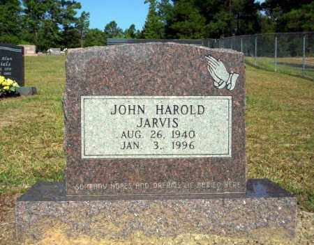 JARVIS, JOHN HAROLD - Nevada County, Arkansas | JOHN HAROLD JARVIS - Arkansas Gravestone Photos