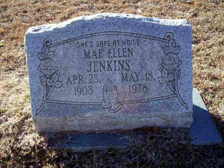 JENKINS, MAE ELLEN - Nevada County, Arkansas | MAE ELLEN JENKINS - Arkansas Gravestone Photos