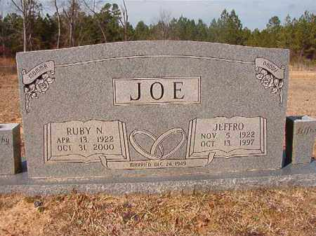 JOE, RUBY N - Nevada County, Arkansas | RUBY N JOE - Arkansas Gravestone Photos
