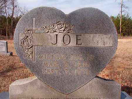 JOE, SR, MILTON - Nevada County, Arkansas | MILTON JOE, SR - Arkansas Gravestone Photos