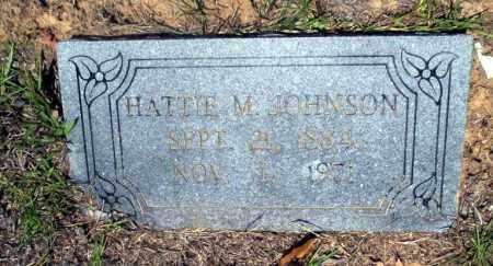 JOHNSON, HATTIE M. - Nevada County, Arkansas | HATTIE M. JOHNSON - Arkansas Gravestone Photos