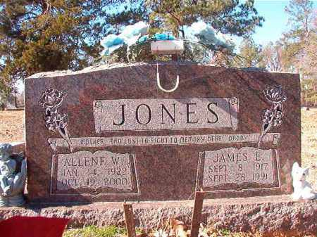 JONES, JAMES E - Nevada County, Arkansas | JAMES E JONES - Arkansas Gravestone Photos