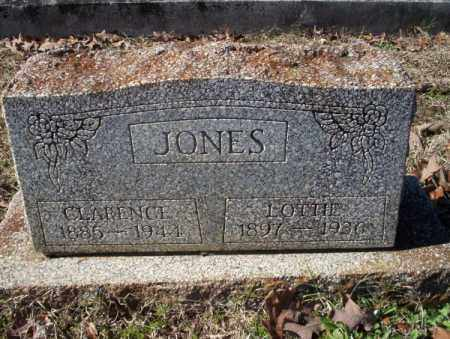 JONES, CLARENCE - Nevada County, Arkansas | CLARENCE JONES - Arkansas Gravestone Photos