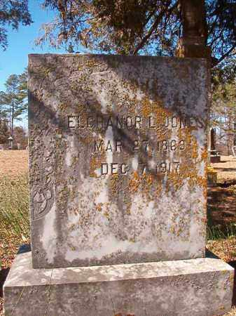 JONES, ELCHANOR L - Nevada County, Arkansas | ELCHANOR L JONES - Arkansas Gravestone Photos