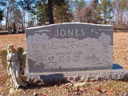 JONES, GREGORY LANE - Nevada County, Arkansas | GREGORY LANE JONES - Arkansas Gravestone Photos