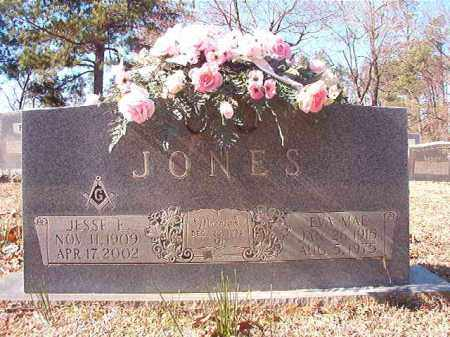 JONES, JESSE E - Nevada County, Arkansas | JESSE E JONES - Arkansas Gravestone Photos