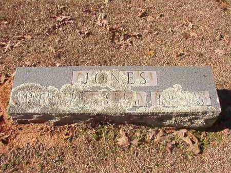 JONES, W E F - Nevada County, Arkansas | W E F JONES - Arkansas Gravestone Photos