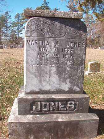 JONES, MARTHA A - Nevada County, Arkansas | MARTHA A JONES - Arkansas Gravestone Photos
