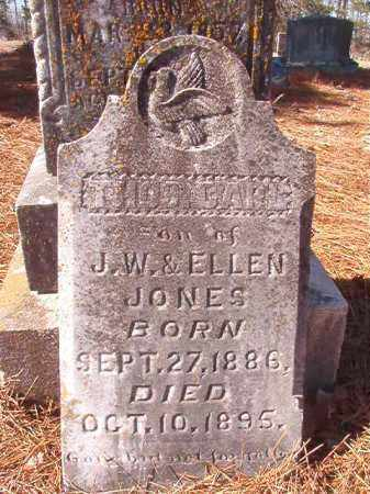 JONES, THOS CARL - Nevada County, Arkansas | THOS CARL JONES - Arkansas Gravestone Photos