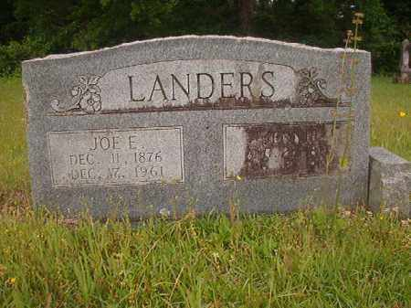 LANDERS, JENNIE - Nevada County, Arkansas | JENNIE LANDERS - Arkansas Gravestone Photos