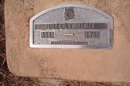 LAWRENCE, FLORA - Nevada County, Arkansas   FLORA LAWRENCE - Arkansas Gravestone Photos