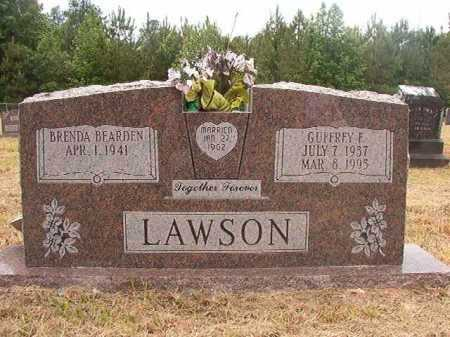 LAWSON, GUFFREY F - Nevada County, Arkansas | GUFFREY F LAWSON - Arkansas Gravestone Photos