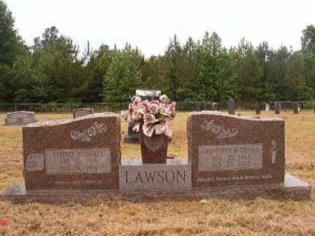 LAWSON, GWENDOLYN M - Nevada County, Arkansas | GWENDOLYN M LAWSON - Arkansas Gravestone Photos