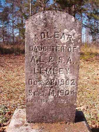 LEMLEY, ADLEAR - Nevada County, Arkansas | ADLEAR LEMLEY - Arkansas Gravestone Photos
