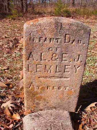 LEMLEY, INFANT DAUGHTER - Nevada County, Arkansas | INFANT DAUGHTER LEMLEY - Arkansas Gravestone Photos