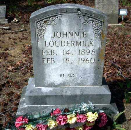 LOUDERMILK, JOHNNIE - Nevada County, Arkansas | JOHNNIE LOUDERMILK - Arkansas Gravestone Photos