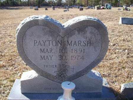 MARSH, PAYTON - Nevada County, Arkansas | PAYTON MARSH - Arkansas Gravestone Photos