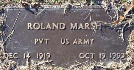 MARSH (VETERAN), ROLAND - Nevada County, Arkansas | ROLAND MARSH (VETERAN) - Arkansas Gravestone Photos