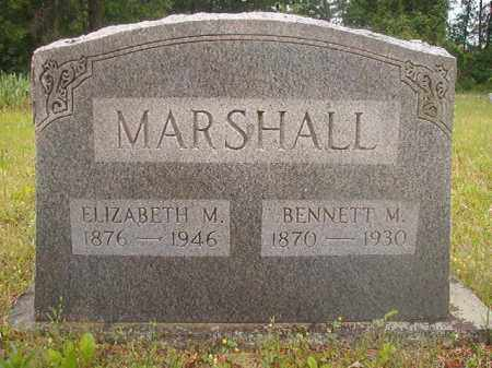 MARSHALL, ELIZABETH M - Nevada County, Arkansas | ELIZABETH M MARSHALL - Arkansas Gravestone Photos