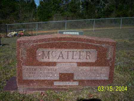 MCATEER, CATTIE - Nevada County, Arkansas | CATTIE MCATEER - Arkansas Gravestone Photos