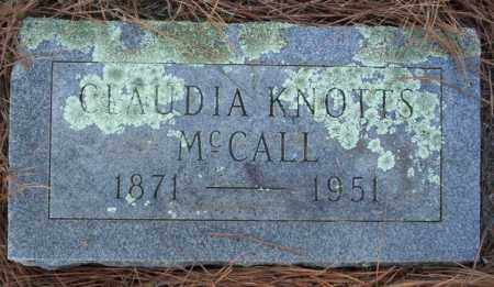 MCCALL, CLAUDIA - Nevada County, Arkansas | CLAUDIA MCCALL - Arkansas Gravestone Photos
