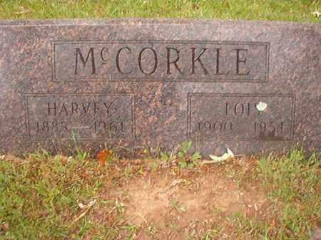 MCCORKLE, HARVEY - Nevada County, Arkansas | HARVEY MCCORKLE - Arkansas Gravestone Photos