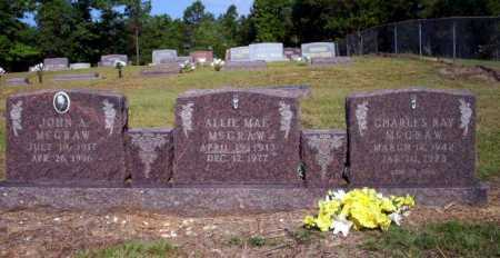 MCGRAW, ALLIE MAE - Nevada County, Arkansas | ALLIE MAE MCGRAW - Arkansas Gravestone Photos