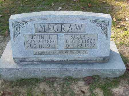 MCGRAW, JOHN H - Nevada County, Arkansas | JOHN H MCGRAW - Arkansas Gravestone Photos
