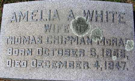 WHITE MCRAE, AMELIA A - Nevada County, Arkansas | AMELIA A WHITE MCRAE - Arkansas Gravestone Photos