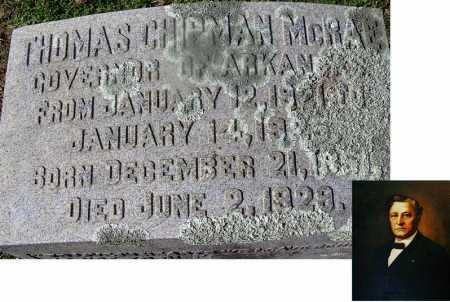 MCRAE (FAMOUS), THOMAS CHIPMAN - Nevada County, Arkansas | THOMAS CHIPMAN MCRAE (FAMOUS) - Arkansas Gravestone Photos