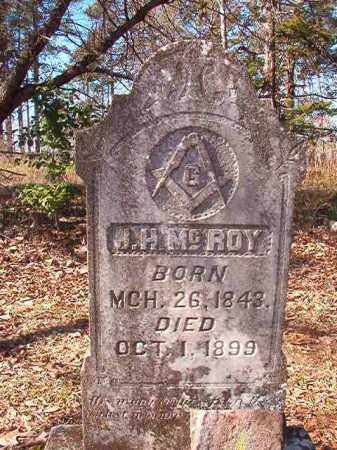 MCROY, J H - Nevada County, Arkansas | J H MCROY - Arkansas Gravestone Photos