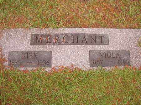 MERCHANT, KIRK - Nevada County, Arkansas | KIRK MERCHANT - Arkansas Gravestone Photos