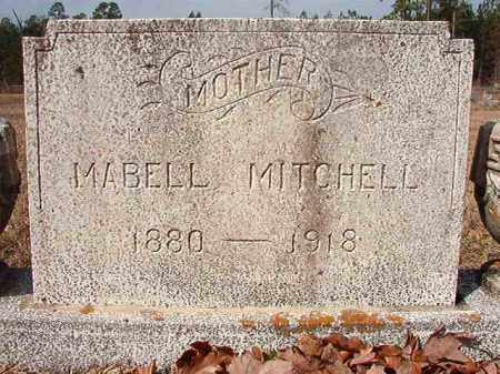 MITCHELL, MABELL - Nevada County, Arkansas | MABELL MITCHELL - Arkansas Gravestone Photos