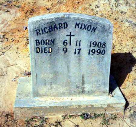 MIXON, RICHARD - Nevada County, Arkansas | RICHARD MIXON - Arkansas Gravestone Photos