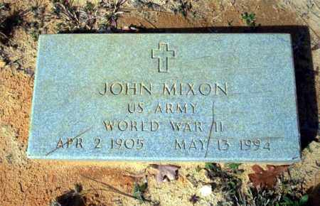 MIXON (VETERAN WWII), JOHN - Nevada County, Arkansas | JOHN MIXON (VETERAN WWII) - Arkansas Gravestone Photos